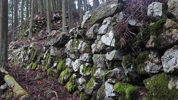明智光秀が築いた隠れた名城 京都の周山城