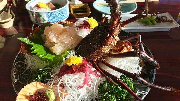 モデル・はな、和歌山の絶景と絶品鍋料理に感動