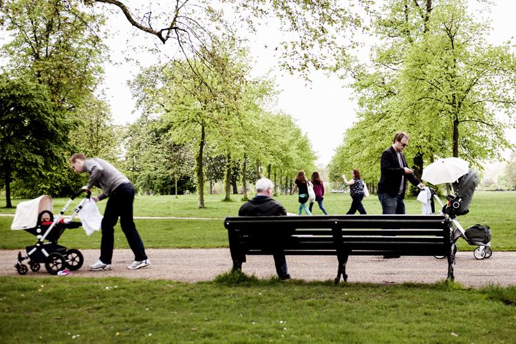 """""""イクメン""""を多く見かけたロンドンの公園"""