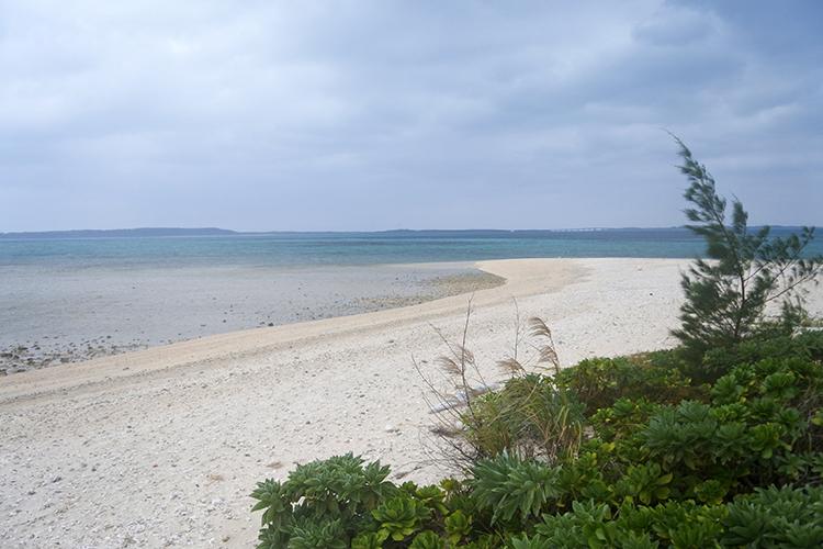 晴れていたら、さぞやブルーのグラデーションが美しい海が広がることでしょう。再訪せねば!