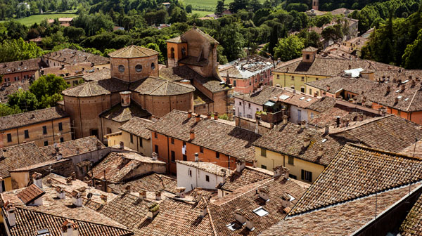 この街で思い出した映画は イタリア・ブリジゲッラ