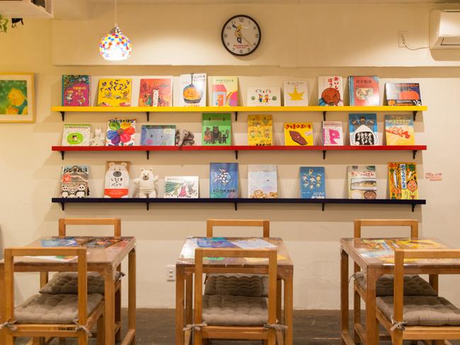 <73>仲良しコンビが営む「大人のための絵本カフェ」