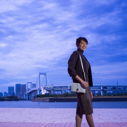 浅尾美和さん「すてきな服って、着るだけで気持ちがリフレッシュされますね」