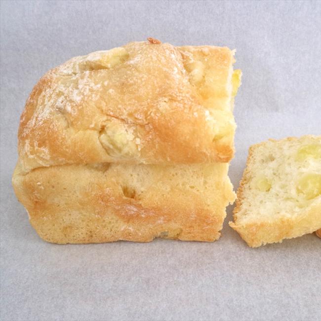 """""""おいしさのための一工夫、食べるととにかく「すごい!」パン/コーデュロイ"""