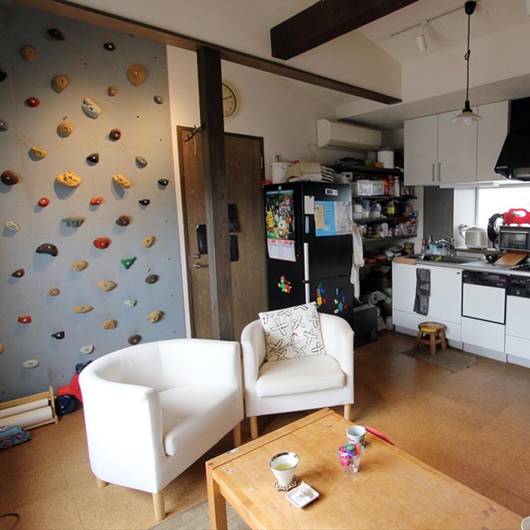 <164>1LDKで5人暮らし。台所を家の中心に据えたわけ