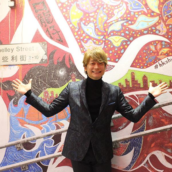 東京に、香港の人気フォトスポット、香取慎吾さん作の壁画が出現