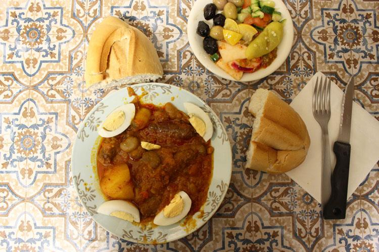 私はいまパリのチュニジアにいます。「Chez Bob de Tunis」