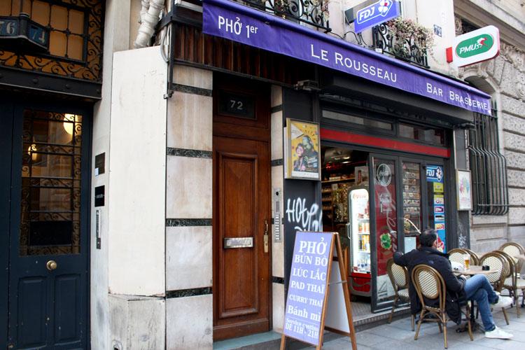 普通のカフェなのに驚きのフォーが!「Le Rousseau」