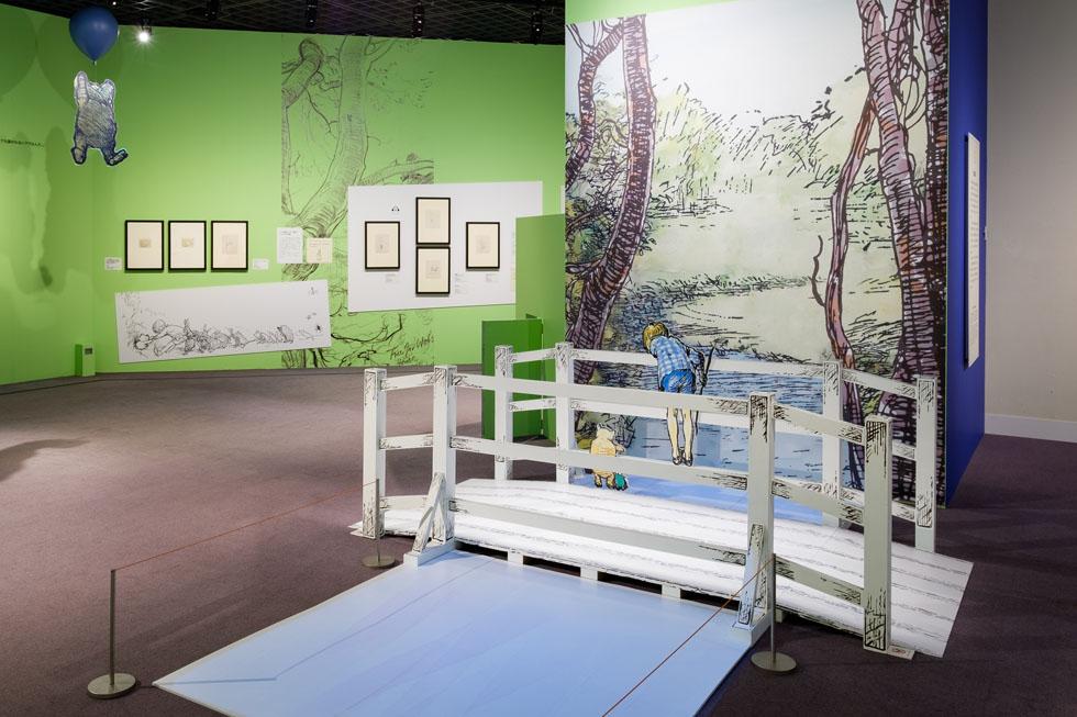 「クマのプーさん展、イギリスから好評来日中」