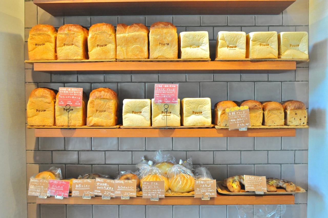 このパン:食パンもキタノカオリなどの国産小麦で作られる