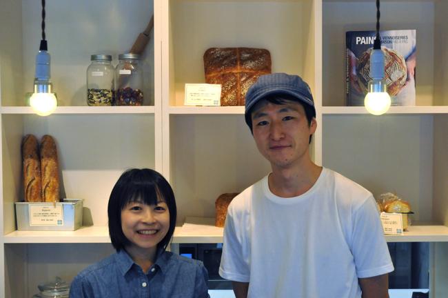 小林健二さんと奥さん