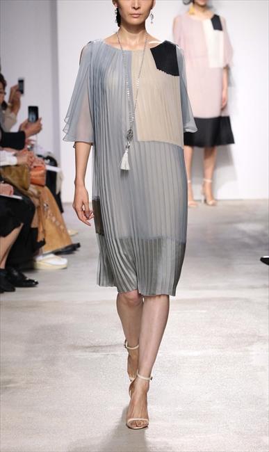 ハオリ・ドゥ・ティティのプリーツドレス