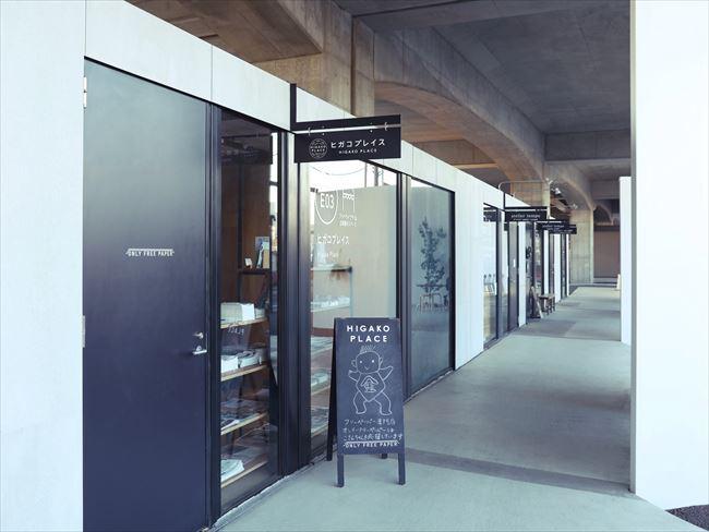 「ONLY FREE PAPER」のあるコミュニティースペース「ヒガコプレイス」は、JR中央線東小金井駅から100メートルほど歩いた場所にある