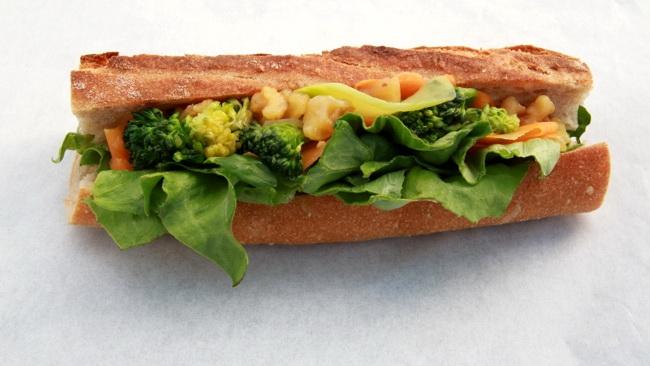 自然農野菜とナッツ
