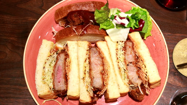 イベリコ豚カツサンドイッチ