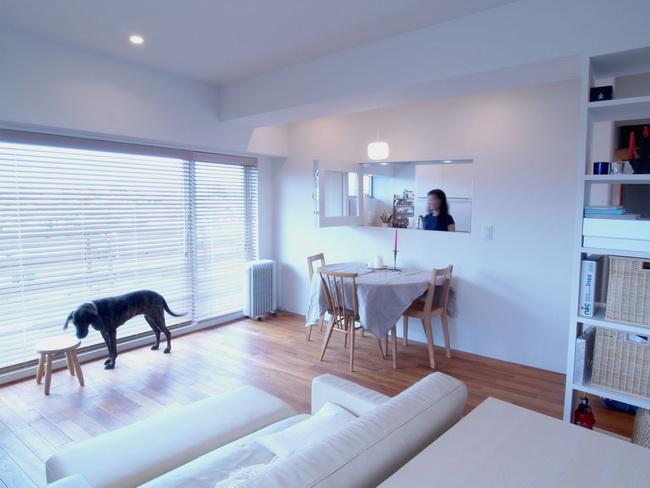 愛犬と暮らしやすい「戸建て風」リノベ