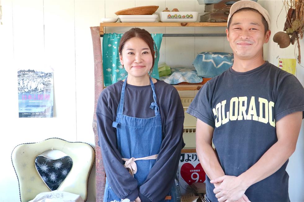 長島和裕さんと奥様