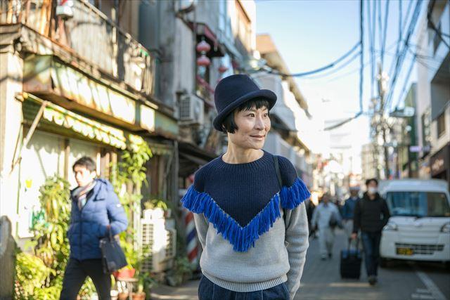 吉祥寺駅から大学までの道のりは「中道通り」を通っていたという片桐さん