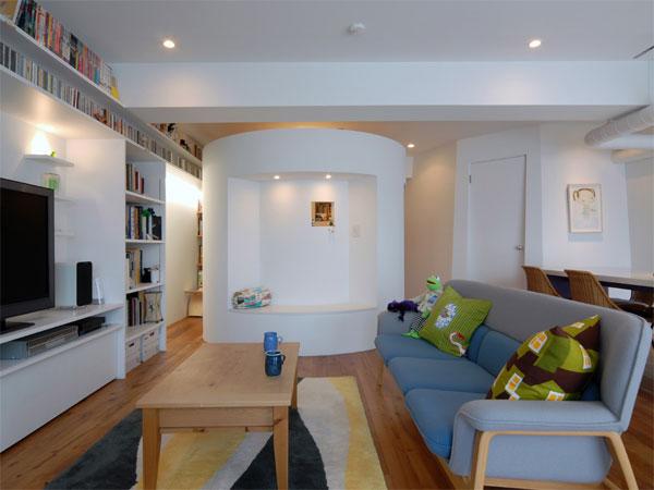 <13> 円形の書斎、台形の寝室、そして…
