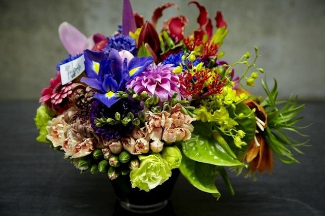 東さんがアレンジした花束
