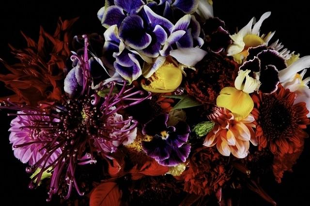 一つの花束に使った植物
