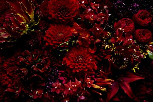 ウェディングプランナーの母に贈る花束に使った花材