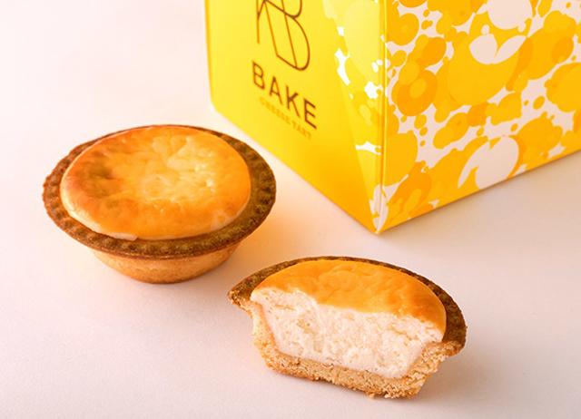 「BAKE CHEESE TART」の焼きたてチーズタルト