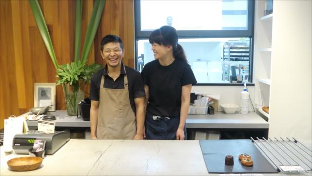 川中潤さんと奥さん