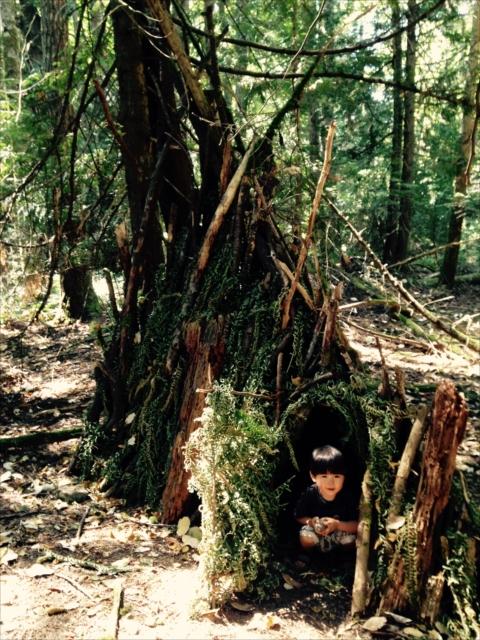 森で小さな村づくり