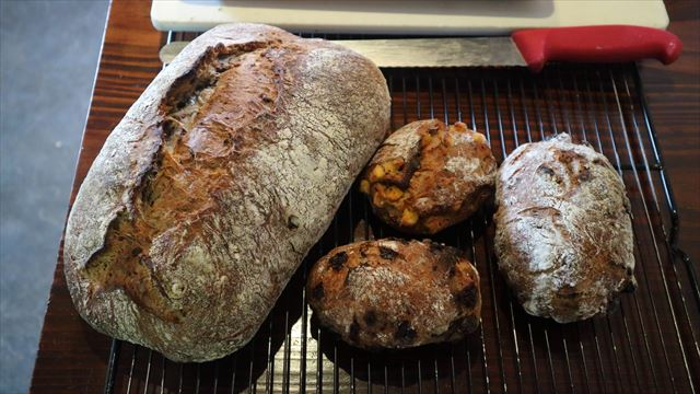 雑穀のパン