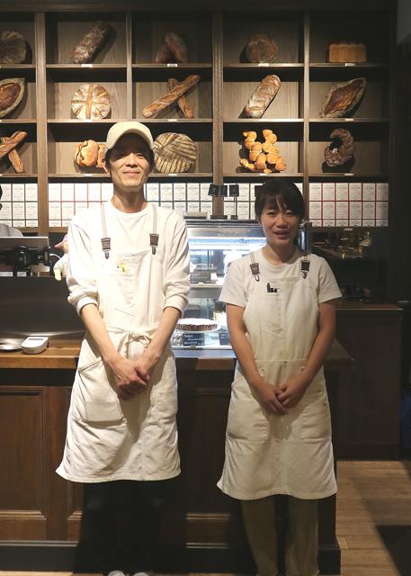岩波宏幸シェフと山口友希サンドイッチディレクター