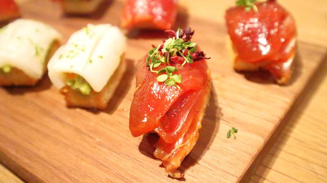 365日・杉窪シェフによる「パン寿司」(イメージ。実際に麦フェスで提供される商品と異なります)