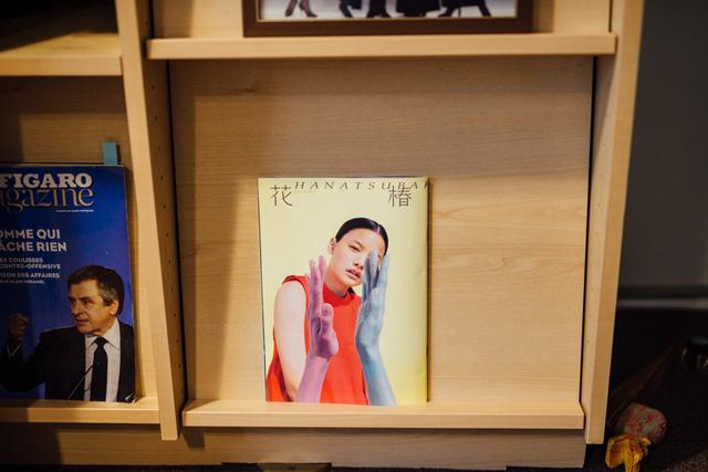5年前、銀座の街角でスカウトした織田梨沙さん。資生堂の伝統ある広報誌の表紙にぴったりだと思い、自ら猛プッシュ。念願かなって表紙モデルをやらせていただいたときは、本当にうれしかった