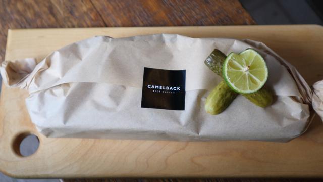 サンドイッチの包み