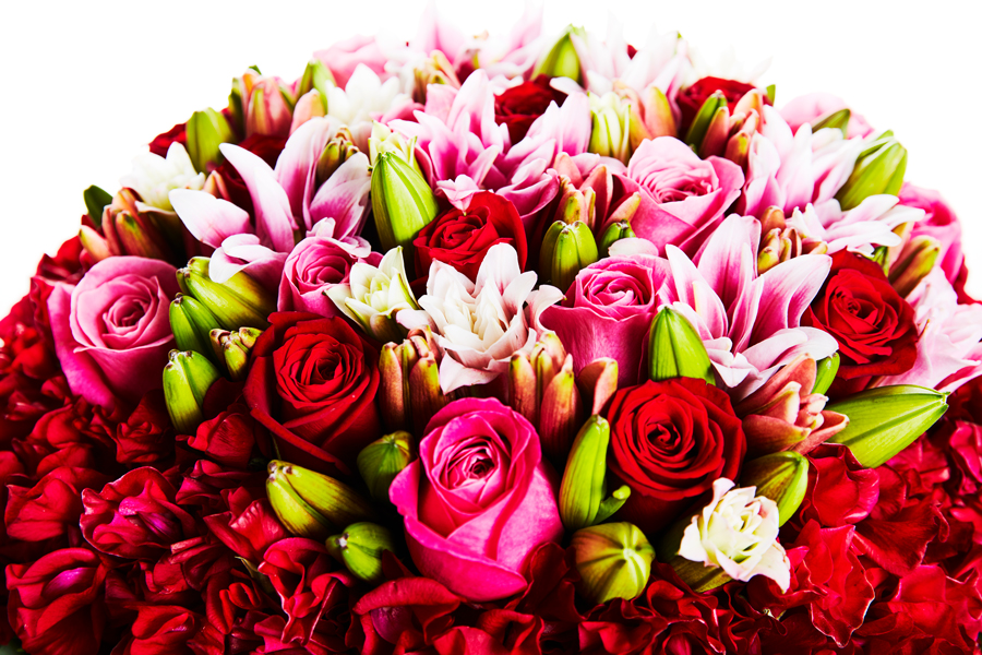 「君たちが結婚するまで……」、誕生日に年齢の数のバラを贈ってくれた父へ花束を