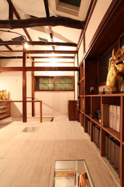 <140>築60年の木造戸建て、1階にも自然光を入れるには