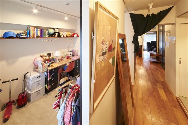 <159>家具選びと配置がポイント。物が多くてもリラックスできる空間