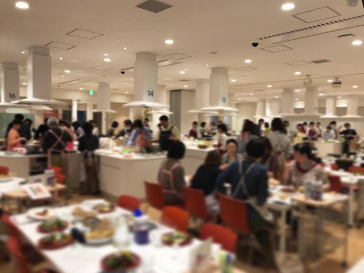 ヤリイカさばいて3品作る料理教室in大阪
