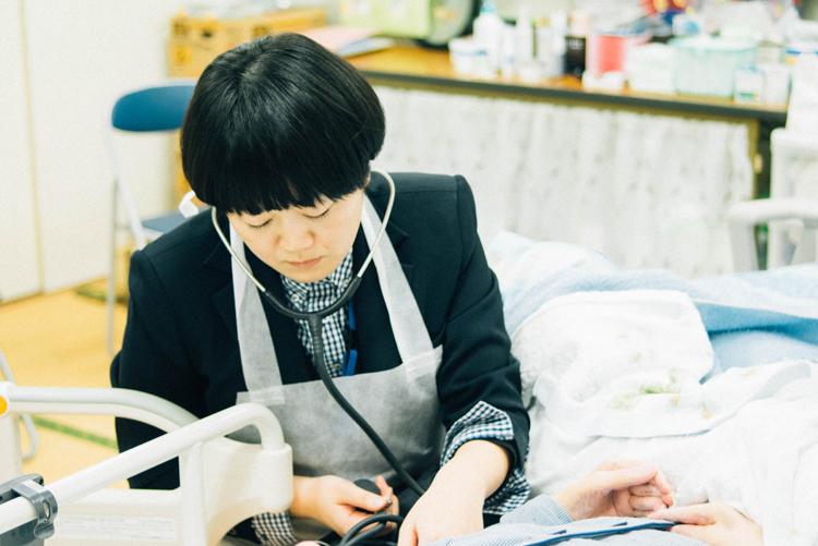 訪問看護師:佐々木直美さん(35歳)