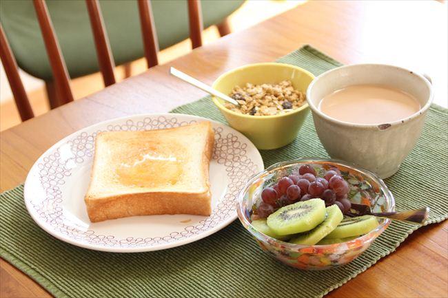 <81>トーストとミルクティの変わらぬ朝食