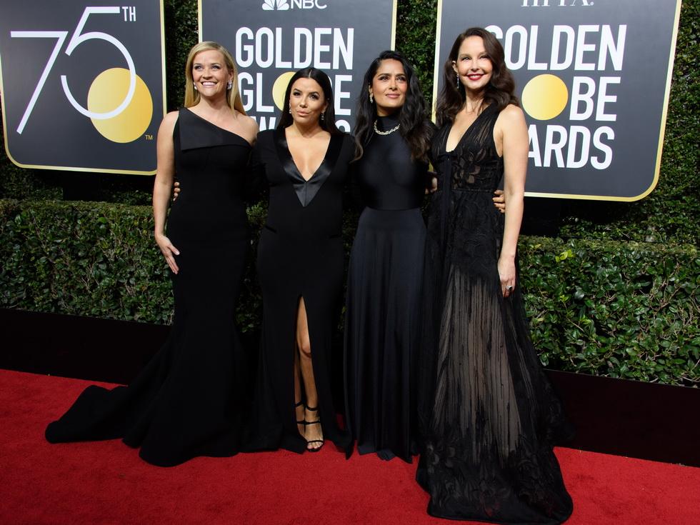「黒」は連帯の色 ゴールデン・グローブ賞2018