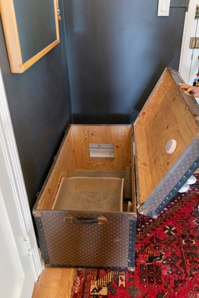 〈猫と暮らすニューヨーク〉夢のリノベアパート。猫用トイレも手づくり。