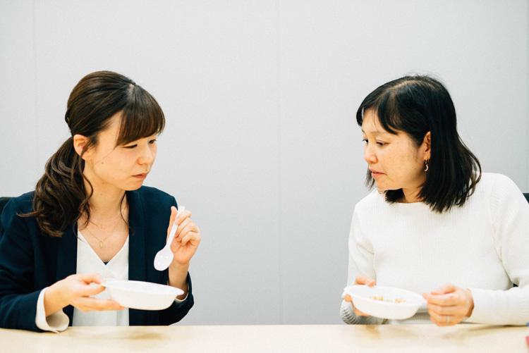 食品商品企画:山口文菜さん(30歳)