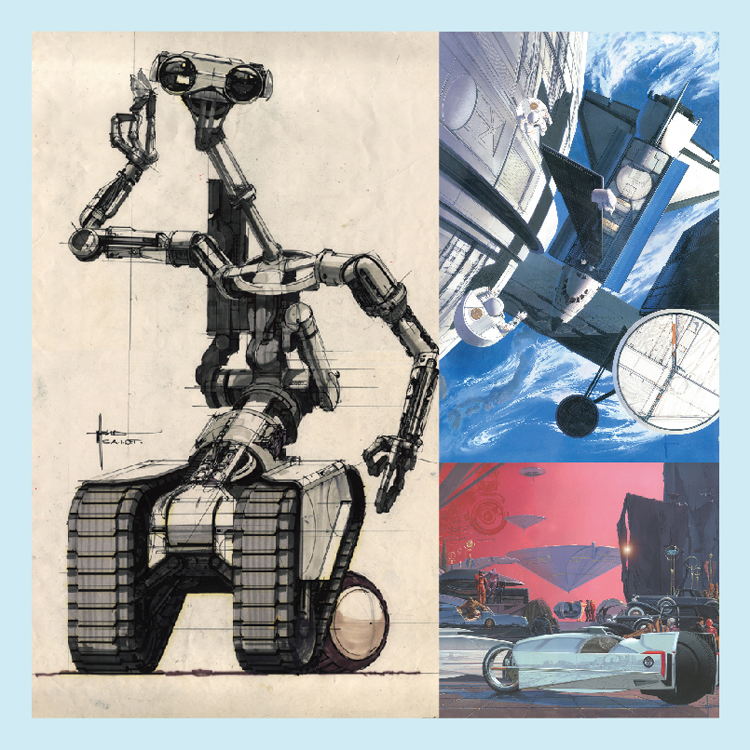 【「&w」読者プレゼント】未来のリハーサル『シド・ミード展』特典付観覧券をプレゼント
