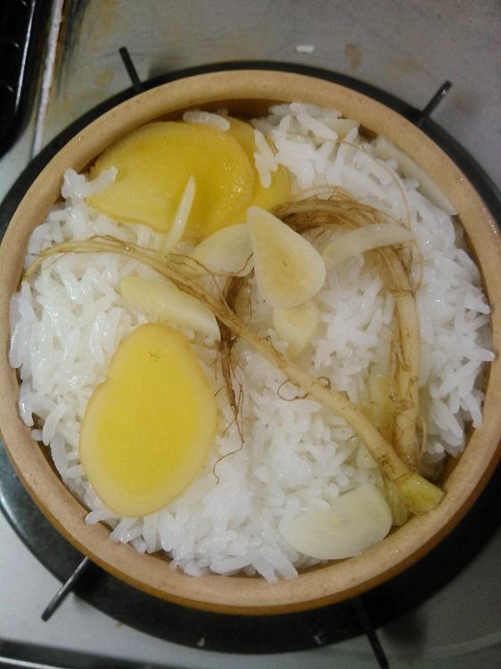 按田優子さん「土鍋でカオマンガイ」
