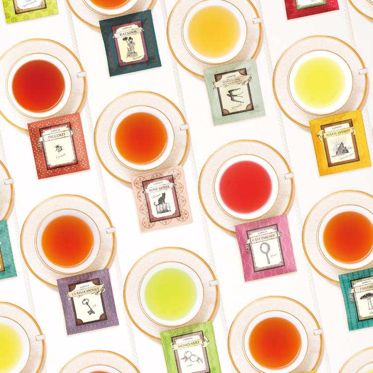【「&w」読者プレゼント】LUPICIAティーバッグ30種セット「ブック オブ ティー・ポルト ボヌール」を3名様にプレゼント