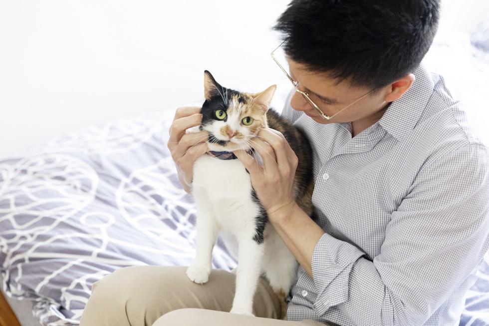 猫好きへ転身した夫妻。マグカップも猫柄