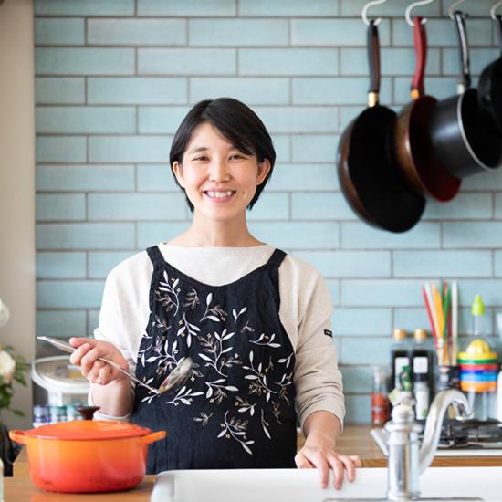 「私の役割は『楽しく食卓を囲む時間への貢献』です」タサン志麻さん(料理人)
