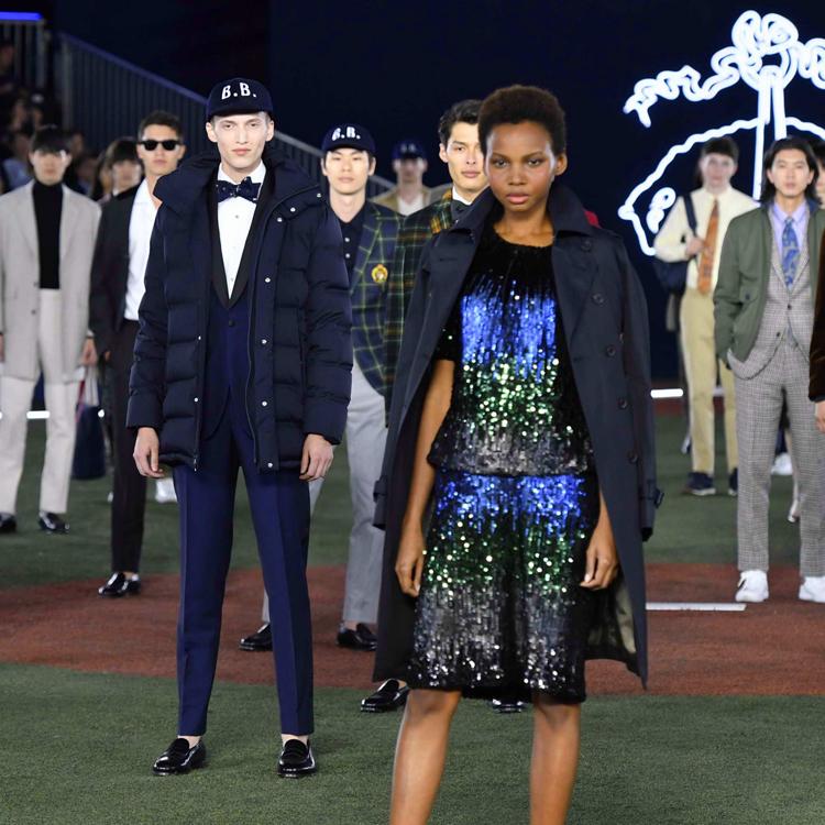 ブルックスブラザーズ、上陸40周年 都内で記念のファッションショー