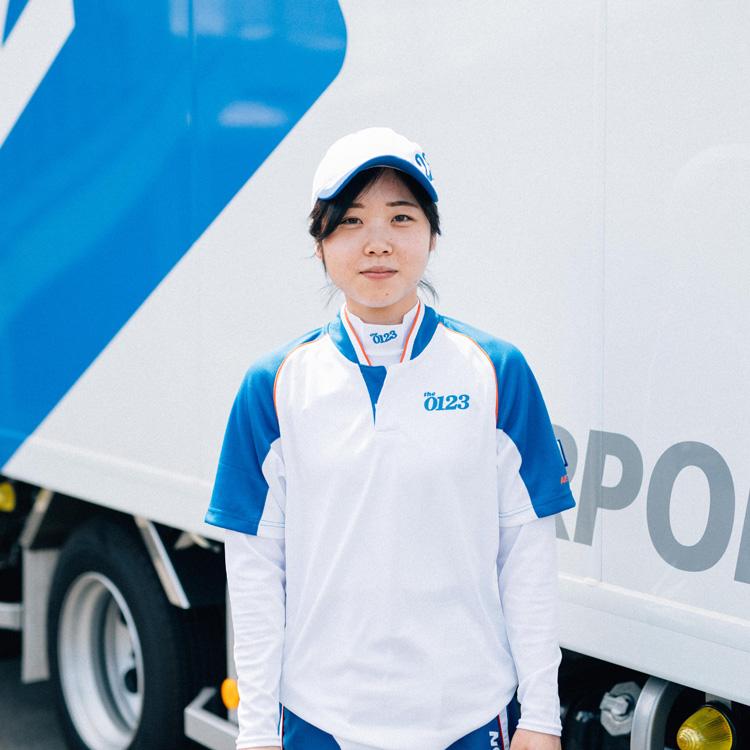 引っ越しスタッフ:大谷明奈さん(23歳)